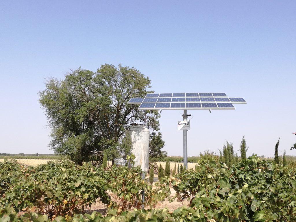 seguidor solar- infrysol