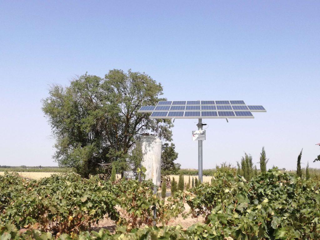 Infrysol - Seguidor Solar Pedro Muñoz